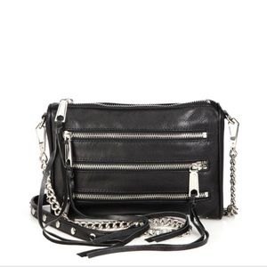 Rebecca Minkoff Crossbody mini 5 zip bag